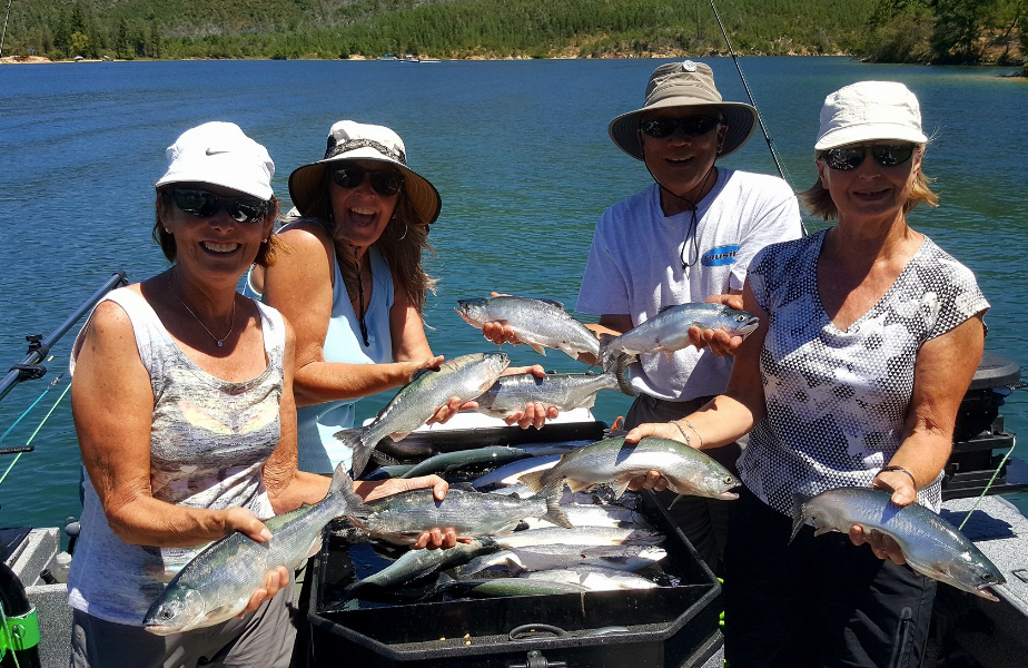 Ac guide services whiskeytown lake fishing report daily for Whiskeytown lake fishing