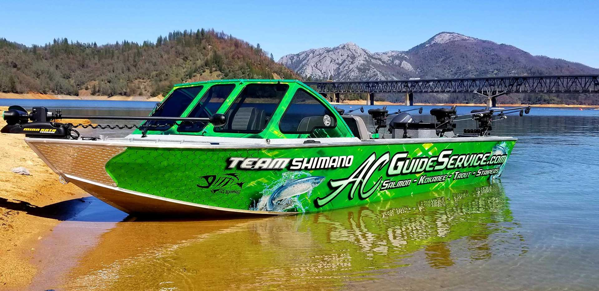 AC Guide Services Best Northern California Fishing Guide
